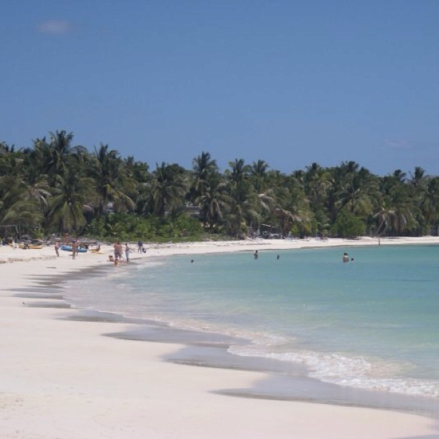 Crystal clear wathers in San Andres islas, Colombia.
