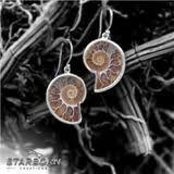 ammonite earrings - Google Search