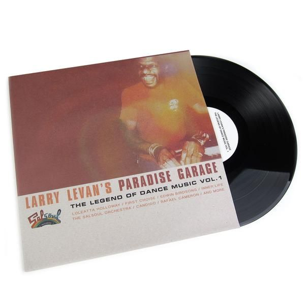 Larry Levan: Larry Levan's Paradise Garage - The Legend Of Dance Music Vol.1 Vinyl 3LP