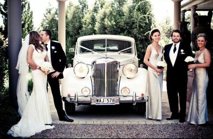 Arrive in vintage style #chauffeur #vintage #style #weddingcar #elegant #classic