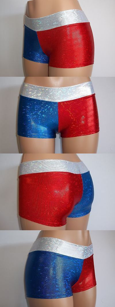Pants and Shorts 163140: Women Ladies, Nfl New England Patriots Booty Shorts-Team Sports-Football-Cheer -> BUY IT NOW ONLY: $32 on eBay!