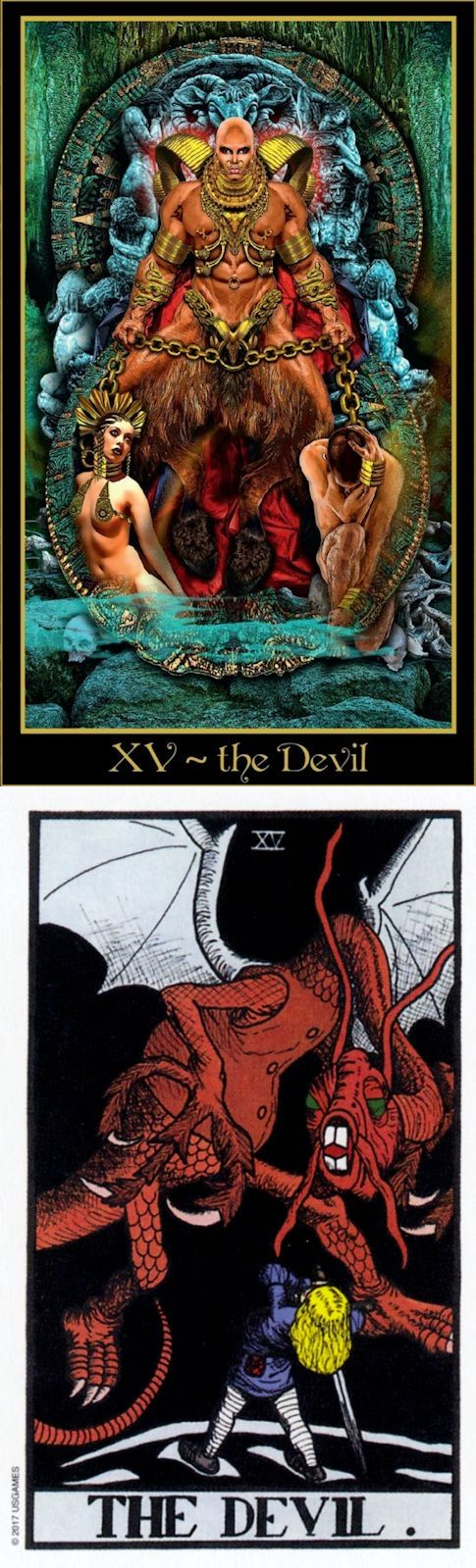 THE DEVIL: destructive patterns and release (reverse). Illuminati Tarot deck and Wonderland Tarot deck: tarot online español, most accurate tarot reading and tarot reading in hindi. The best spelljammer and divination aesthetic. #tarotspread #gothwitch #altar #spellwork