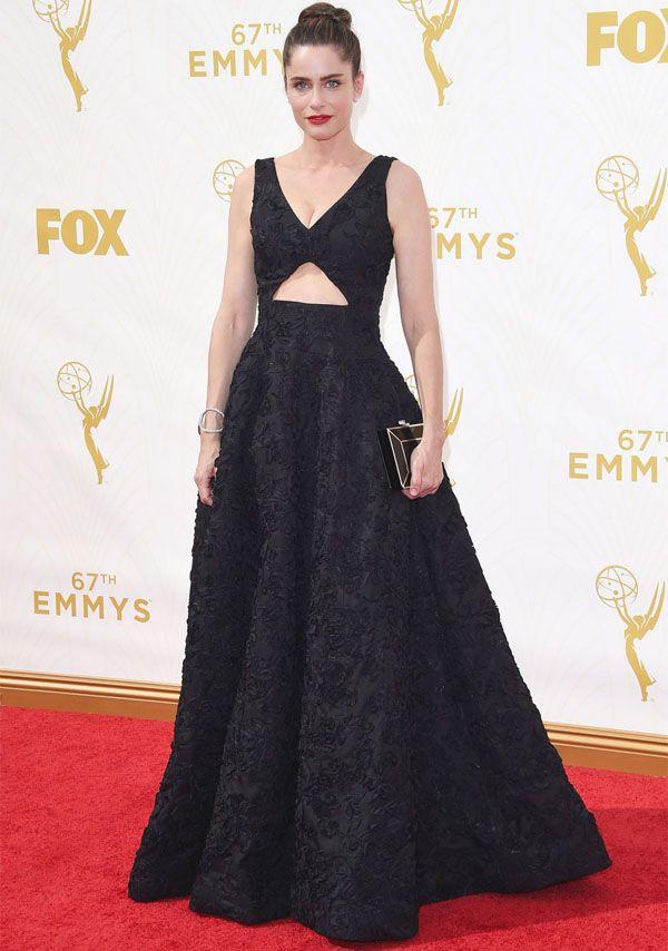 Amanda Peet e as outras musas que arrasaram no red carpet do Emmy Awards, que rolou ontem.