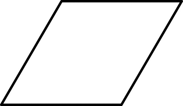 Large Rhombus for Pattern Block Set (With images