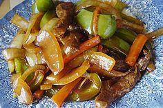Rindfleisch mit Zwiebeln (Rezept mit Bild) von hobbykoechin   Chefkoch.de