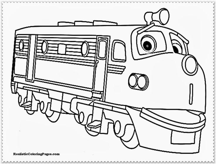 Chuggington Wilson Coloring Pages