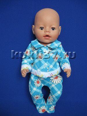 ползунки для куклы