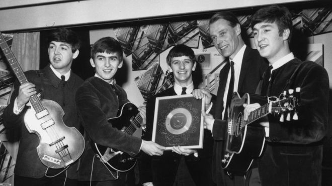 'Fifth Beatle' Sir George Martin dies, aged 90 | BBC News