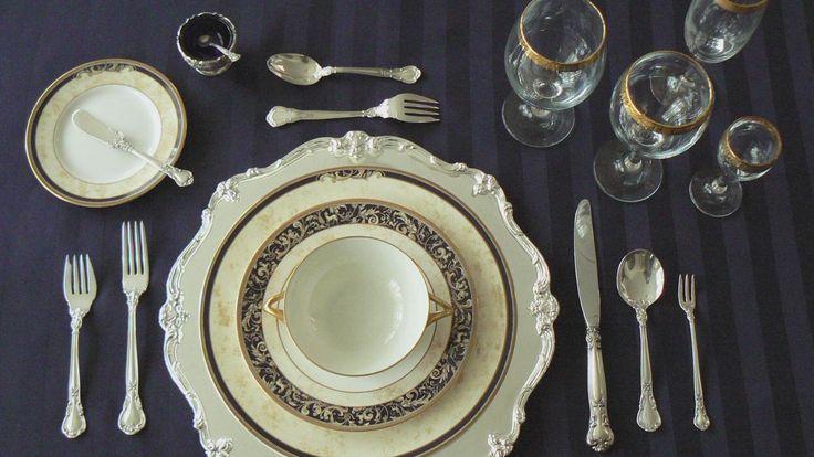 Es muy importante el orden de cada cosa en la mesa, ¡no lo olvides!