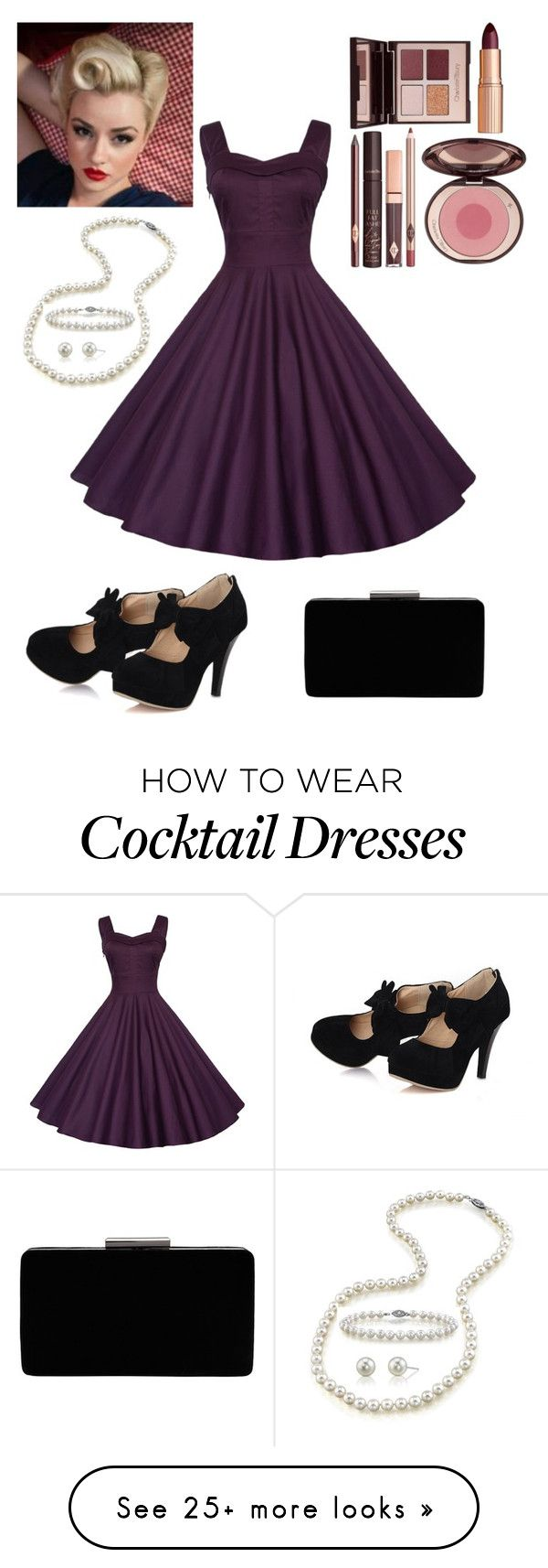 """Take me swing dancing"" by emilyxx33 on Polyvore featuring Charlotte Tilbury, John Lewis and vintage"