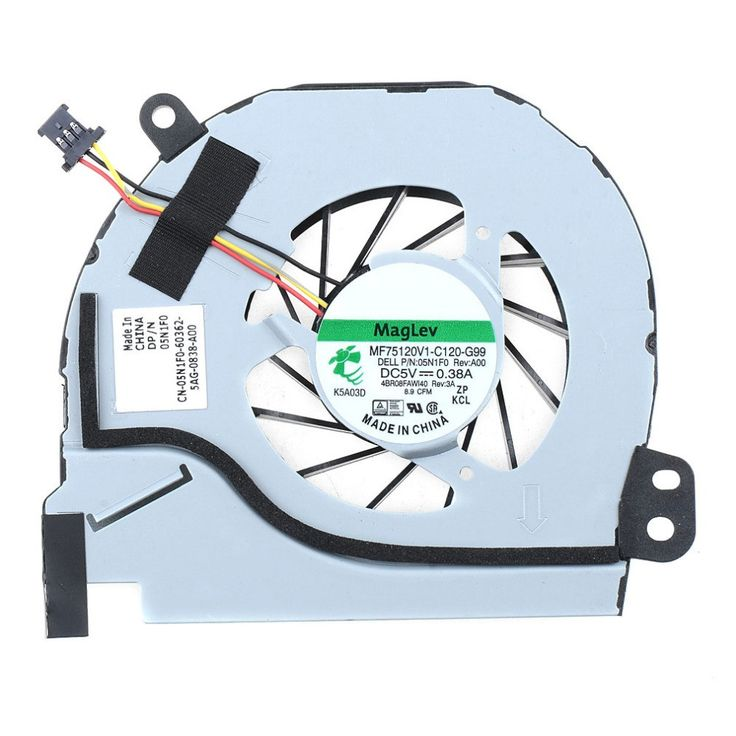 Notebook Computer Replacements CPU Cooling Fan Laptops 05N1F0 Accessories For DELL 4TD