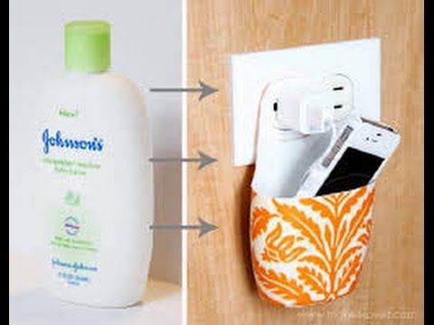 How to Turn a Plastic Bottle Into a Phone Charging Station