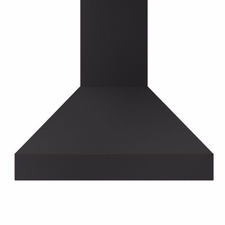 "42"" Designer Series Black Wall Range Hood  (8667B-42) **CROWN MOLDING**  24"" depth"