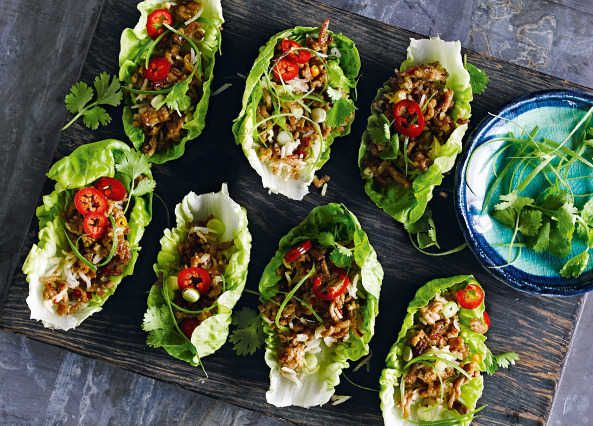 Don't be put off by the word salad, this popular Thai dish is as filling as it is tasty with fragrant pork mince, crunchy lettuce and rice