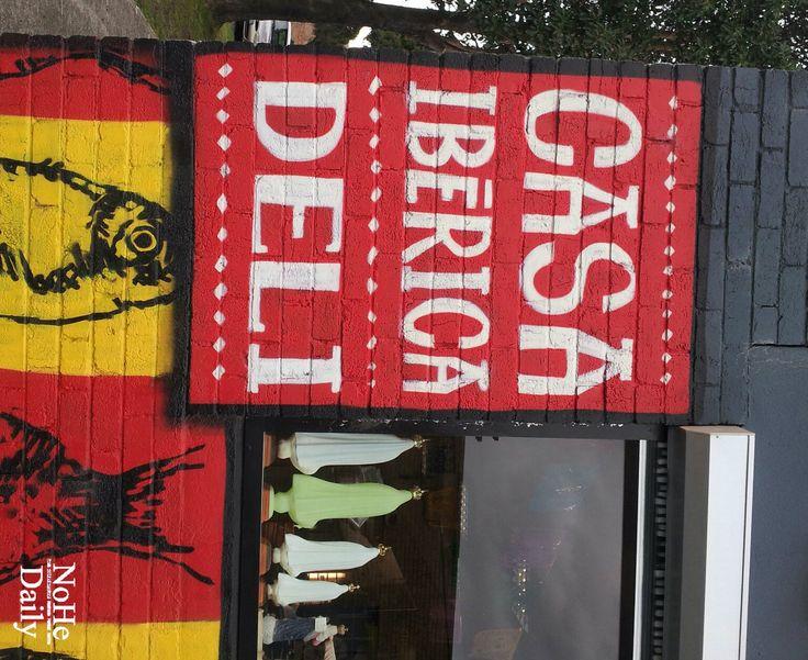 Casa Iberica's Alphington deli and store...154 Fulham Road Alphington. Tues - Saturdays.