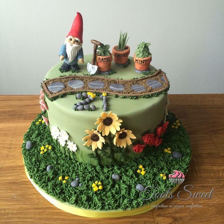 De 91 bästa Harriet: Gardening themed cake ideas-bilderna på Pinterest