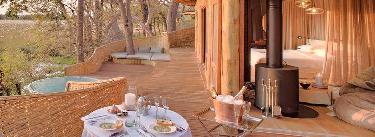 Ultimate Romance of Africa Safari - Sandibe Okavango Safari Lodge