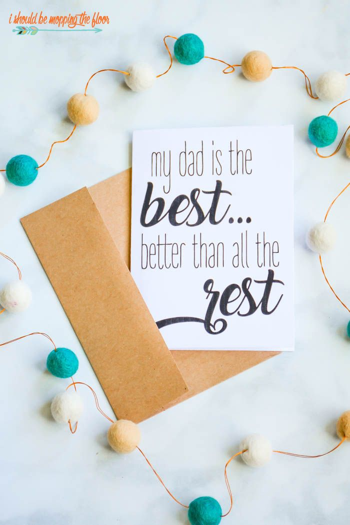 Free Printable Cute Fathers Day Poems On Greeting Cards Fathers