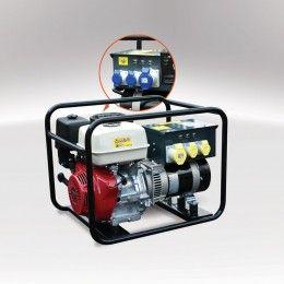 Evopower Pro MG 6500 6.5kVA Open Frame Petrol Generator