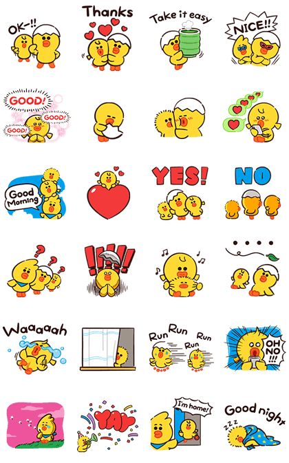 SALLY & FRIENDS: LOUIE. ELLY. and ARI Sticker for LINE. WhatsApp. Telegram — Android. iPhone iOS in 2020 | Line sticker. Print stickers. Sticker ...