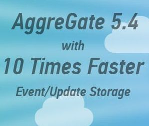 Feel free to get all benefits of 10x faster event/update storage with AggreGate 5.4! Download our IoT platform and make sure that a single server can process and persistently store up to a hundred thousand events/updates per second, which is almost equal to 10 billion events per day. Such performance figures don't even require any high-end server hardware.