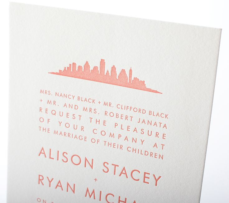 New Skyline Wedding invitations from Hello Lucky25 best Invitations images on Pinterest   Nashville skyline  . Nashville Wedding Invitations. Home Design Ideas