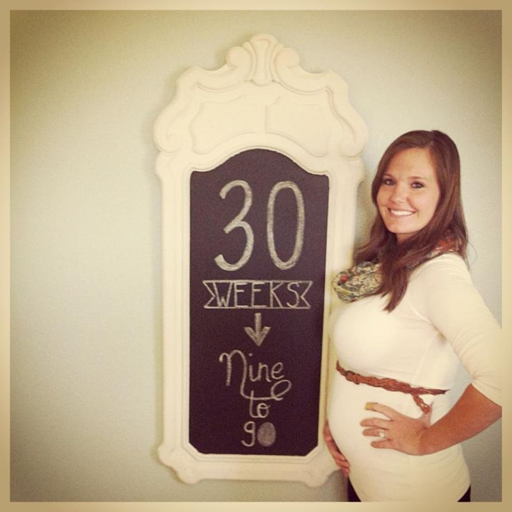 baby bump chalkboard - 30 weeks pregnant  http://youngsnlove.blogspot.com