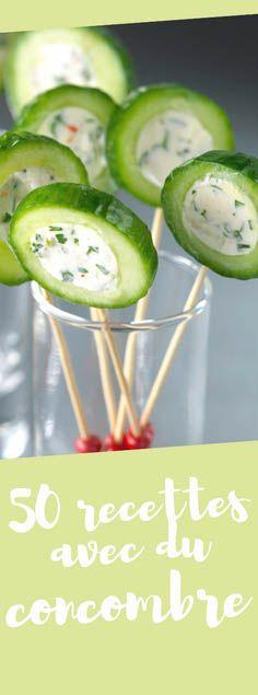 Découvrez nos 50 recettes de concombre démasqué !