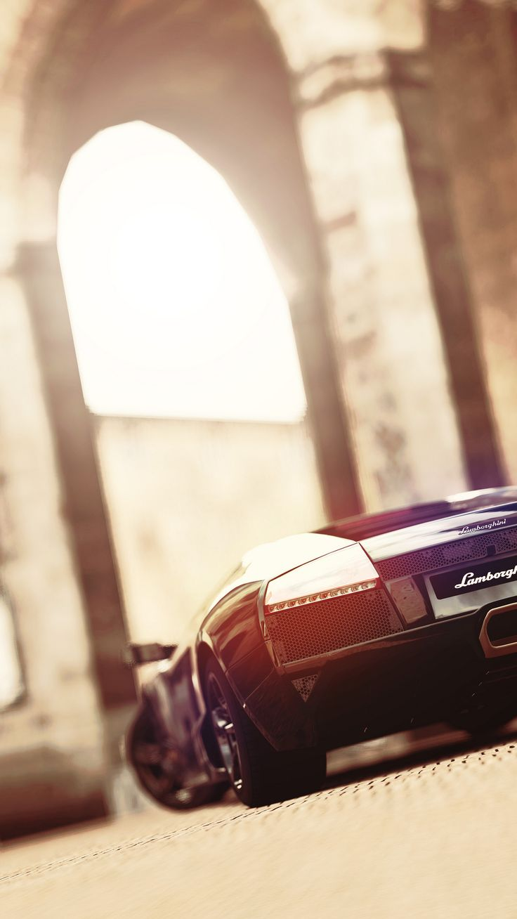 ..on the lamb with a rented lambo ..cuz it's faster yet. #Lamborghini by Dorian Ortowski