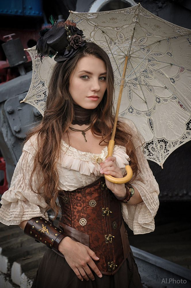 Decorate the inside of my parasol https://www.steampunkartifacts.com/collections/steampunk-wrist-watches