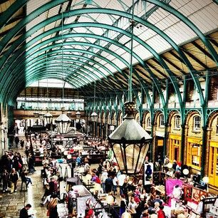 Covent Garden Market- Inspiration for My Fair Lady