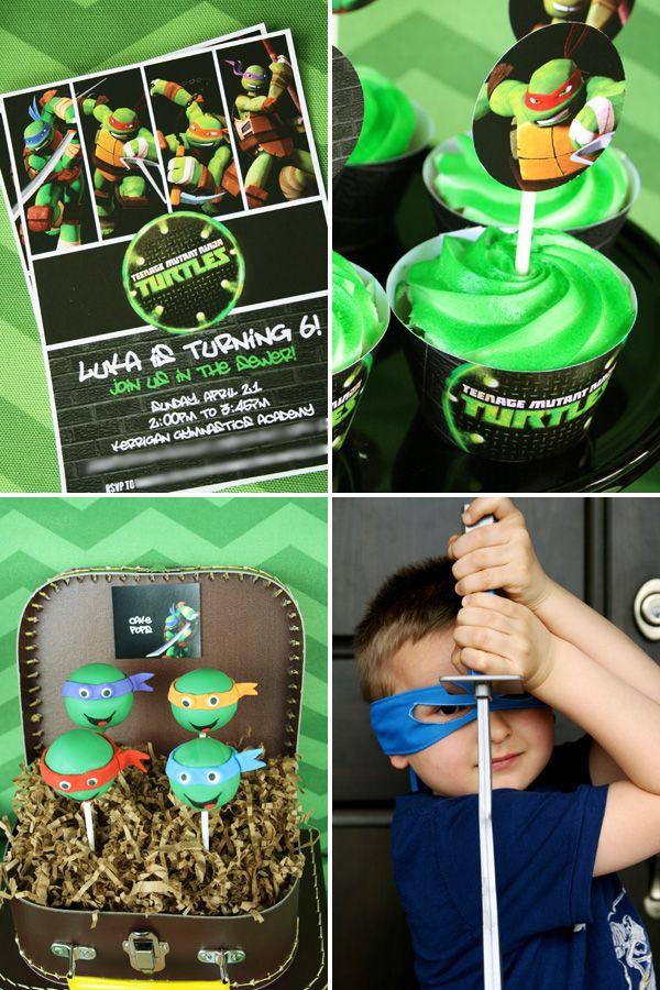 Cowabunga! Teenage Mutant Ninja Turtle Party