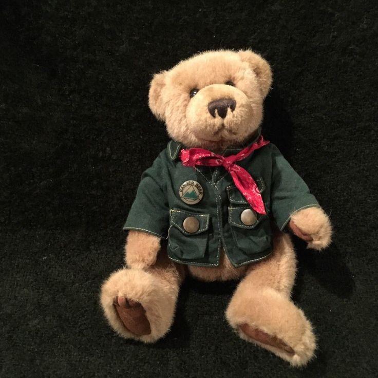 RANGER REX'S FOREST FRIENDS REX TALKING TEDDY BEAR PLUSH JOINTED ANIMAL #RangerRexsForestFriends #RangerRexBear