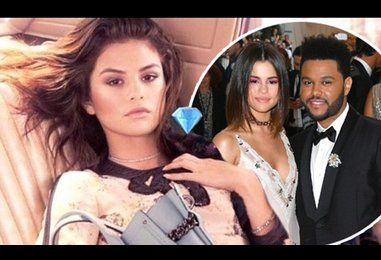 The Weeknd shows support for Selena Gomez on social media with emojis