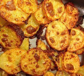 Amerikanische Parmesankartoffeln, im Ofen gebraten 6