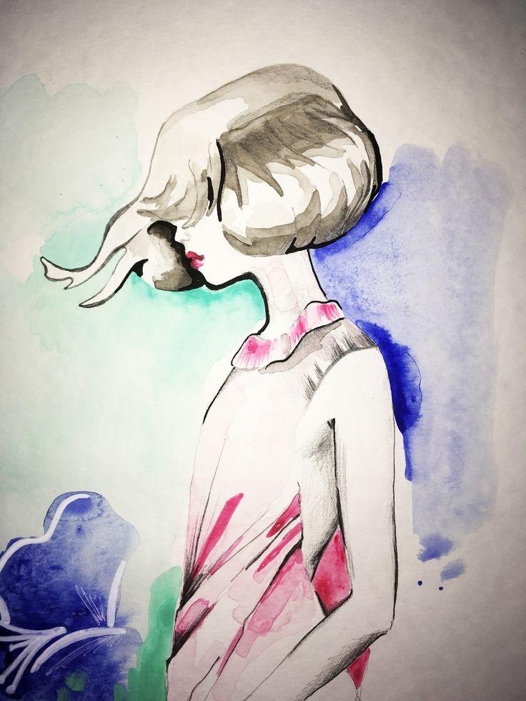 Summer Breeze | Sketching