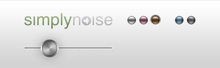 SimplyNoise – a free white-noise generator for your browser. You can also listen to 'pink noise' and 'brown noise' (which is what I use most).
