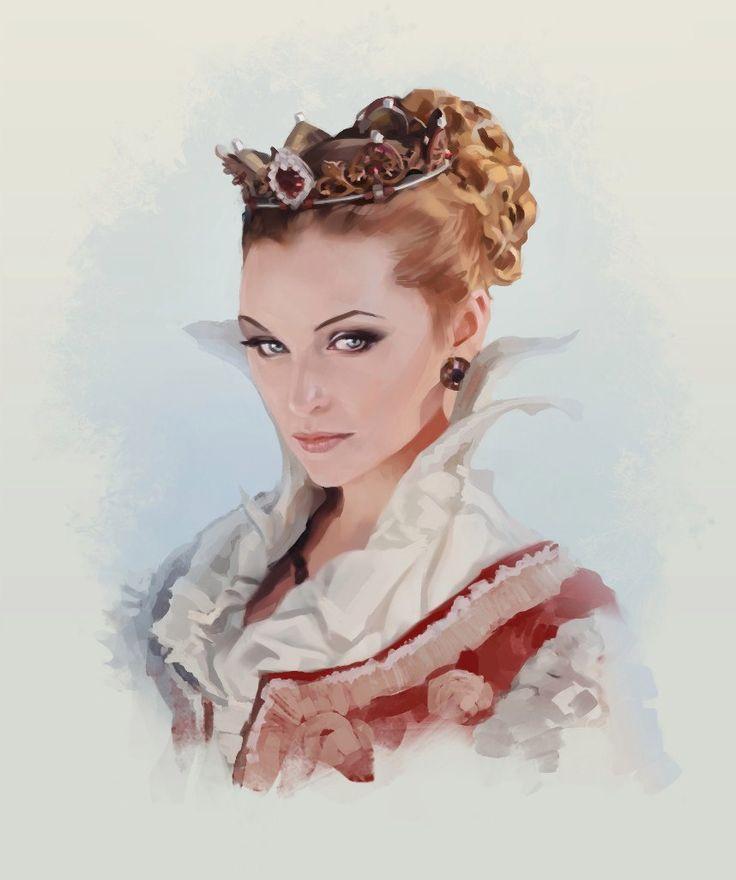 Королева картинки рисунки