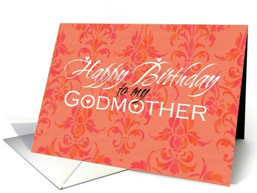 Happy #Birthday  #godmother #card  sold to customer in California, United States