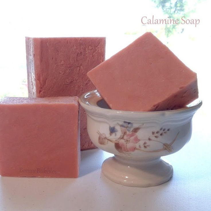 Learn how to make natural Calamine soap; watch the video. #calamine #DIY