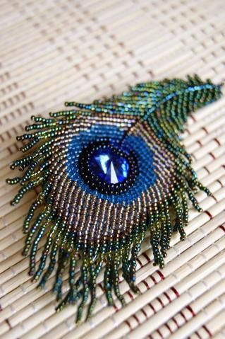 not a tutorial.  I can, however, figure this one out because I do beaded broaches.