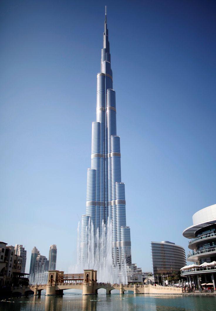 The World's tallest building, Burj Khalifa, Dubai   UAE TOP 10   Burj khalifa, Dubai ...