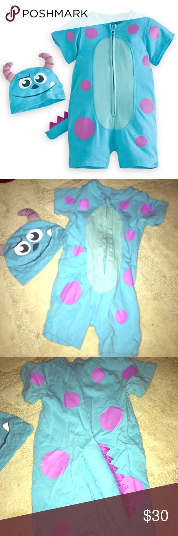 Disney Monsters Inc Sully costume 6 months Disney Parks authentic costume. Size 6m but runs a little smaller. Worn once. Excellent condition. Disney Costumes Halloween