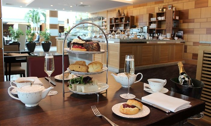 Sofitel Heathrow - Restaurant - London Heathrow Airport: Afternoon Tea or Champagne Afternoon Tea for Two or Four at Sofitel London Heathrow