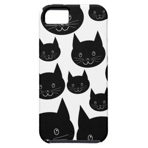 Monochrome Cat Design.