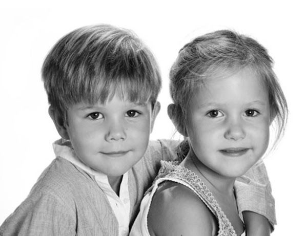 Prince Vincent and Princess Josephine of Denmark are 6 years old