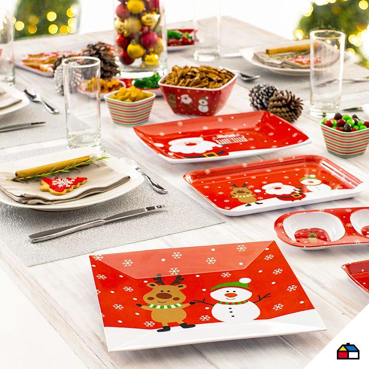 Decora tu mesa para navidad #Sodimac #Homecenter #Perú #navidad #celebracion #hogar #inspiración #decoracion #homedecor