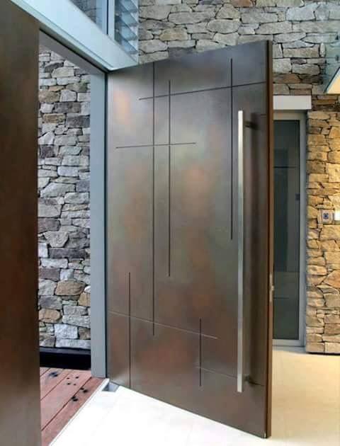 17 best ideas about puertas para entrada principal on - Puertas de entrada principal ...