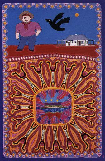Sally Morgan's Art; 'My Grandmother's Country'