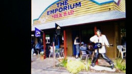 Friday nights are so much fun at the Emporium milk bar at old Petrie Town.